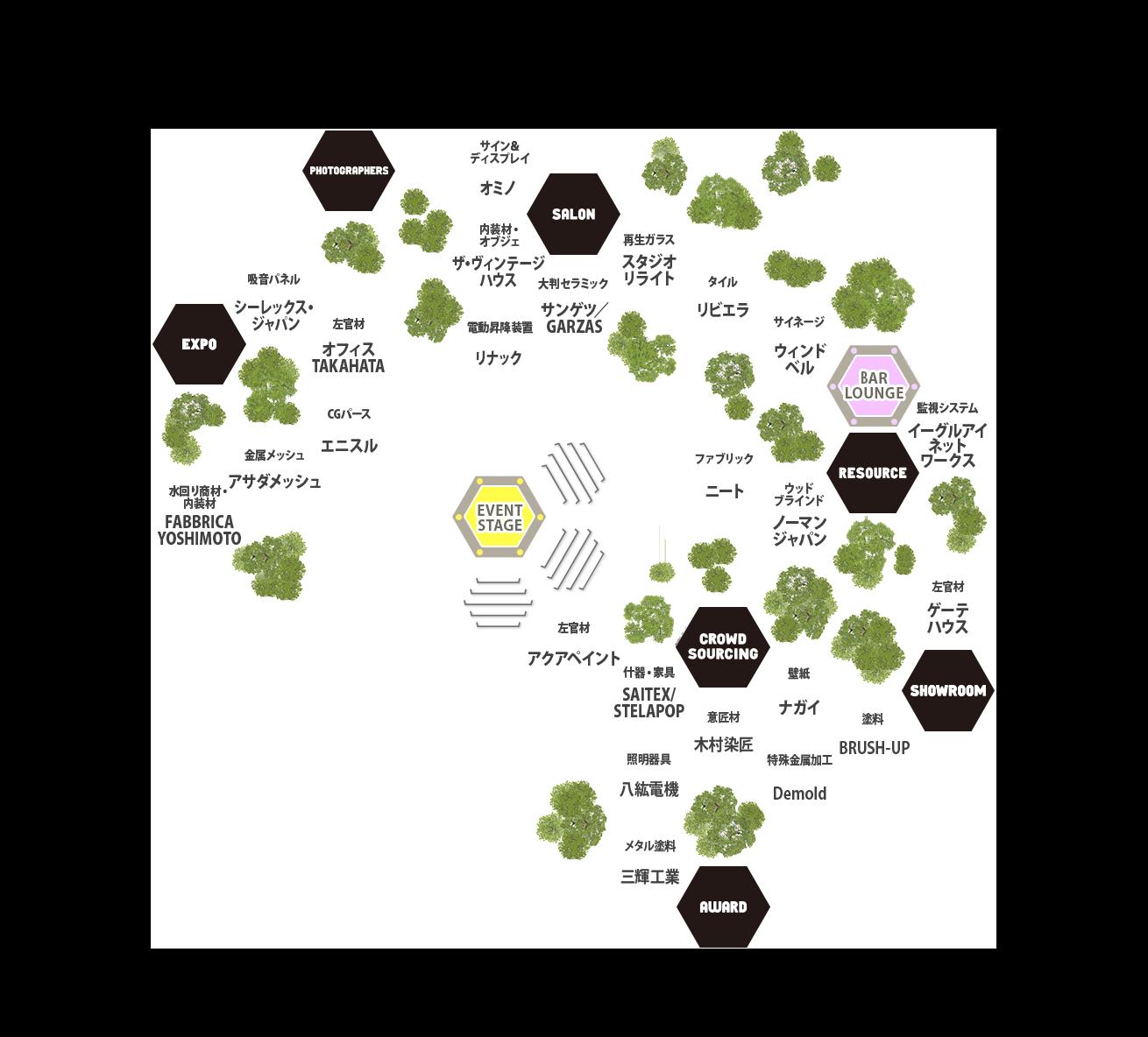 BAMBOO EXPO onweb map
