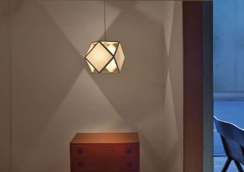 江戸行燈の新作照明