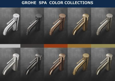 GROHE SPA COLOR COLLECTIONS