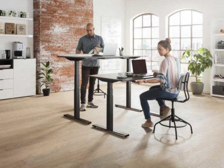 昇降デスク用ユニット「Desk Frame 1」