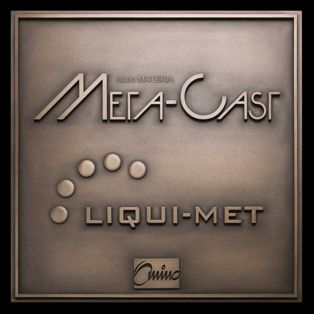 コーティング技術で鋳物の重厚感を演出「META-CAST sign」