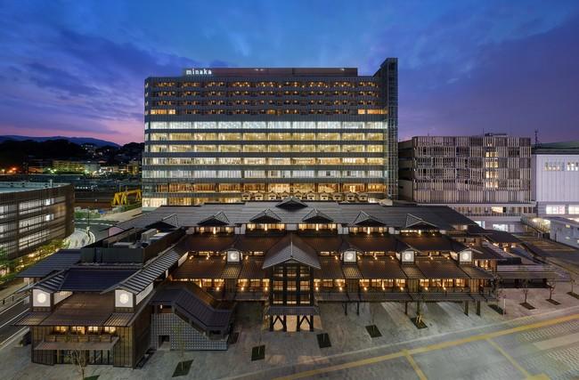 最先端の木造耐火技術が採用された商業施設 「ミナカ小田原」