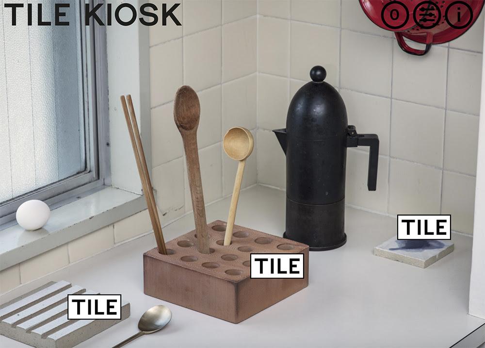 タイルのポップアップショップ「TILE KIOSK」