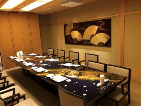 西陣織テーブル