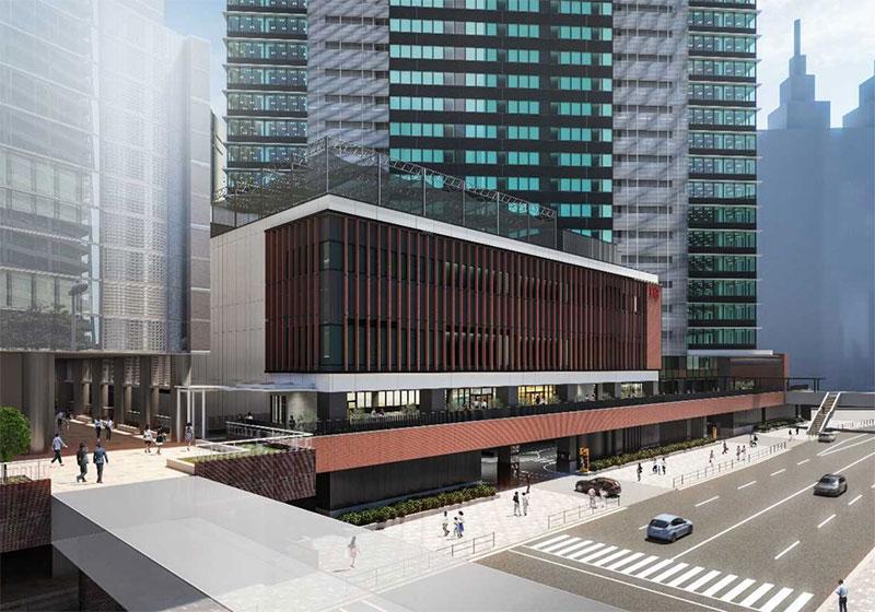川崎駅前に商業施設「KAWASAKI DELTA」が5月オープン